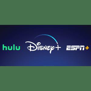 Disney+, Hulu, & ESPN+ Bundle