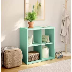 Threshold 4-Cube Organizer Shelf for $28 via Target Circle