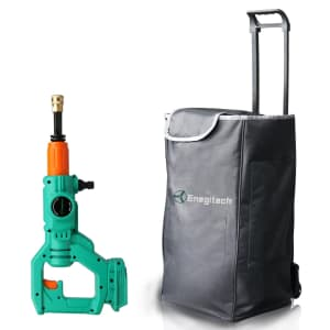 Enegitech 18V Cordless Pressure Washer w/ 50-Liter Canvas Water Tank for $115