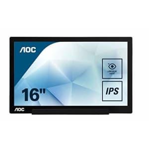 "AOC 15.6"" USB-C Portable IPS Monitor for $116"
