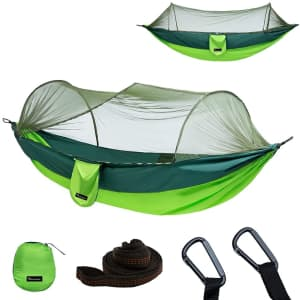 Yoomo Camping Hammock with Mosquito Net from $26