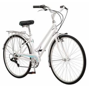 Schwinn Wayfarer Adult Bike Hybrid Retro-Styled Cruiser, 16-Inch/Small Steel Step-Through Frame, for $426