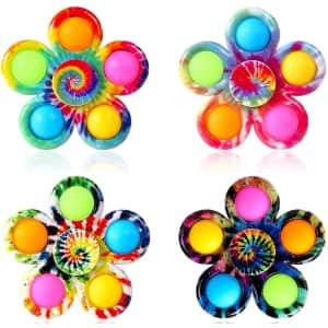 Gohey Pop Bubble Fidget Spinner 4-Pack for $9