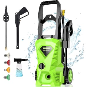 Homdox 2,500-PSI Electric Pressure Washer for $96