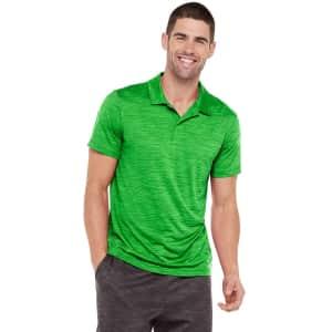 Tek Gear Men's DryTek Polo Shirt for $6