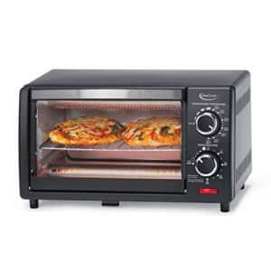 Betty Crocker BC-1664CB Toaster Oven, 0.9 L, Black for $36
