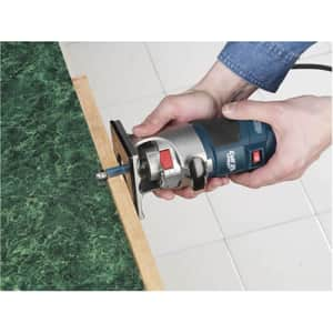 Bosch PR20EVSK palm grip 5.6-amp 1-HP fixed-base variable-speed router w/ edge guide for $1,218