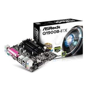 ASRock Motherboard Mini ITX DDR3 1066 Q1900B-ITX for $102