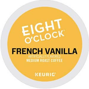 Eight O'Clock Coffee French Vanilla, Single-Serve Keurig K-Cup Pods, Flavored Medium Roast Coffee, for $69