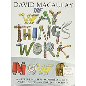 The Way Things Work Now Hardcover Book for $20