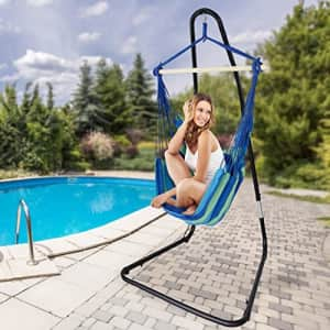 Sorbus Hammock Chair Stand for Hanging Chairs, Swings, Loungers, 330 Pound Capacity, Perfect for for $111