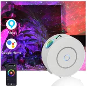Menzee Galaxy Projector Light with Nebula Cloud for $28