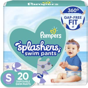 Pampers Splashers Swim Pants 20-Pack for $6