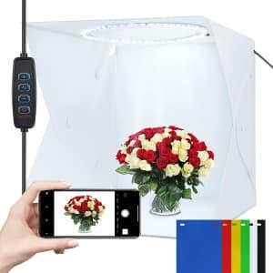 """Yesker 12"""" x 16"""" Photo Light Box for $14"""
