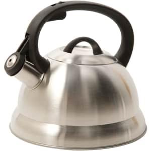 Mr. Coffee Flintshire 1.75-Quart Stainless Steel Whistling Tea Kettle for $16