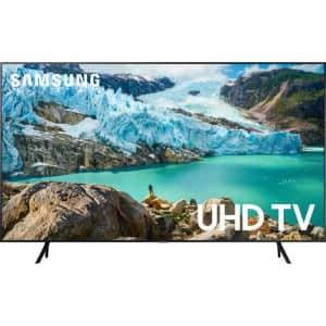 "Samsung 6 Series 70"" 4K HDR LED UHD Smart TV for $550"