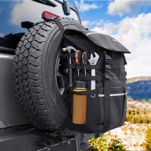 Universal Large Capacity Storage Bag & Spare Tire Bag for $40