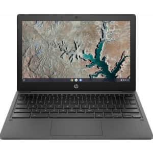 """HP 11.6"""" 8-Core MediaTek Chromebook for $157"""
