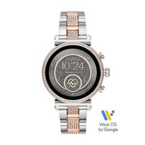 Michael Kors Access Women's Sofie Heart Rate' Touch-Screen Smartwatch with Stainless-Steel Strap, for $349
