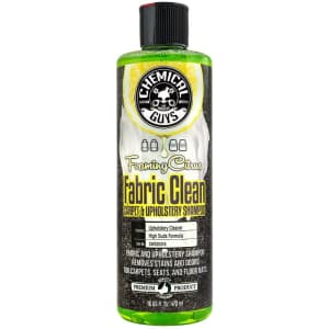 Chemical Guys 16-oz. Foaming Citrus Fabric Carpet & Upholstery Cleaner for $6
