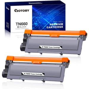 Gotoby Replacement Toner Cartridge 2-Pack for $33