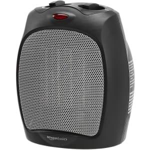 Amazon Basics 1,500W Ceramic Personal Heater for $34