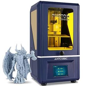 "ANYCUBIC Photon Mono SE Resin 3D Printer, UV LCD SLA 3D Printer Ultra Fast Printing with 6"" 2K Mono for $370"