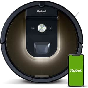 iRobot Roomba 981 Robot Vacuum for $354