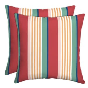 Outdoor Throw Pillow 2-Packs at Home Depot: from $7.79