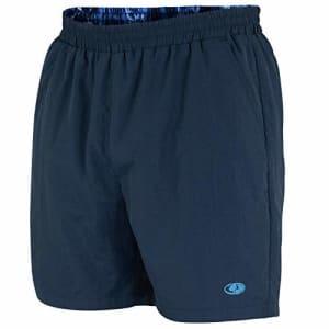 Mossy Oak Men's Swim & Fishing Quick Drying Shorts, XX-Large, Navy for $27