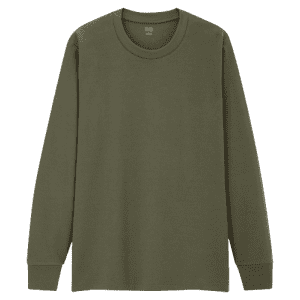 Uniqlo Men's Soft Touch T-Shirt for $8