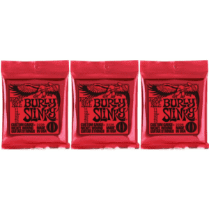 Ernie Ball Burly Slinky Nickel Wound Electric Guitar Strings for $12
