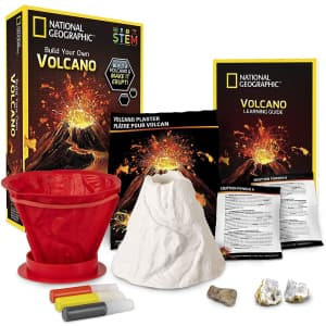 National Geographic Volcano Science Kit for $17