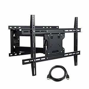 Atlantic Full Motion TV Wall-Mount - for Flat Screen TVs 37-84 inch w/HDMI PN63607140 in Black for $76