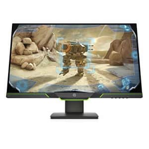 HP X27i 27 2k Gaming Monitor with AMD FreeSync, 1440p 144Hz, QHD, IPS, Ambient Lighting, Height for $290