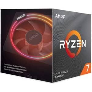 AMD Ryzen 7 3700X 8-Core 3.6GHz Desktop Processor for $270 in cart