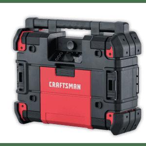 Craftsman VersaStack 20-Volt Max Water Resistant Cordless Bluetooth Jobsite Radio for $190 for Ace Reward members