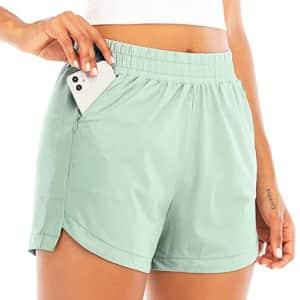 """Running Girl Women's 3"""" Athletic Shorts for $20"""