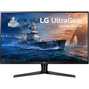"""LG 32"""" 1440p QHD LED FreeSync Gaming Monitor for $291"""