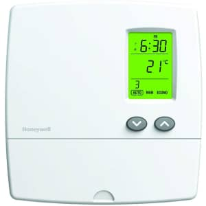 Honeywell 5-2 Day Programmable Thermostat for $10