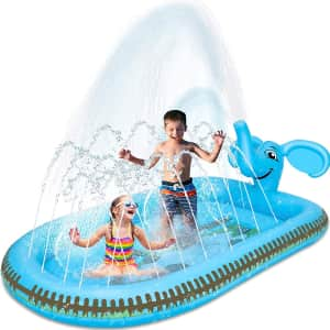 Desuccus Kids' 3-in-1 Inflatable Pool for $20