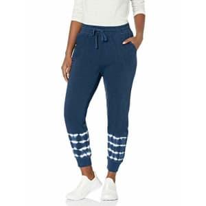 Splendid Women's Activewear Jogger Sweatpants, Navy, Small for $82