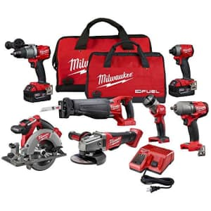 Milwaukee Electric Tools 2997-27 Fuel Combo Kit for $1,300