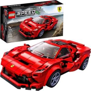 LEGO Ferrari F8 Tributo Toy Car for $16