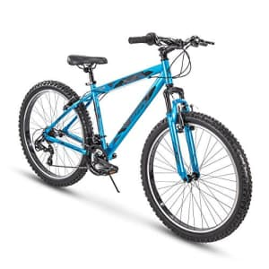 Huffy Hardtail Mountain Trail Bike, 26 inch, 27.5 inch, Satin Tropic Blue, Model Number: 76908 for $105