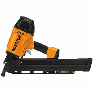 BOSTITCH U/F28WW Clipped Head 2-Inch to 3-1/2-Inch Framing Nailer with Magnesium Housing (Renewed) for $157