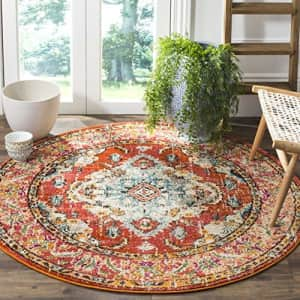 Safavieh Monaco Collection MNC243H Boho Chic Medallion Distressed Non-Shedding Stain Resistant for $53