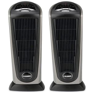 Lasko 751320 Ceramic Tower Heater with Remote Control (2-Pack) for $159