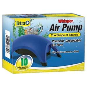Tetra Whisper Air Pump for 10-Gallon Aquariums for $6