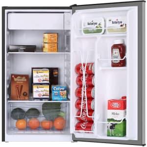 Frestec 3.2-Cu. Ft. Compact Refrigerator for $160